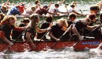 Drachboot-Rennen Fachschaft Sportwissenschaft
