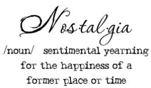 nostalgia-definition
