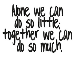 teamwork-quotes-sayings-alone-together-doing